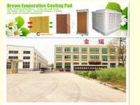 7090 high quality cooling pad used for greenhouse/poultry/workshop