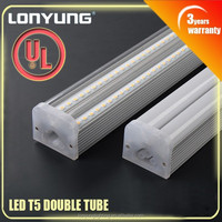 Replacement high shock vibration resistance T5 led tube 120cm integrated Led Light Tubes 15w