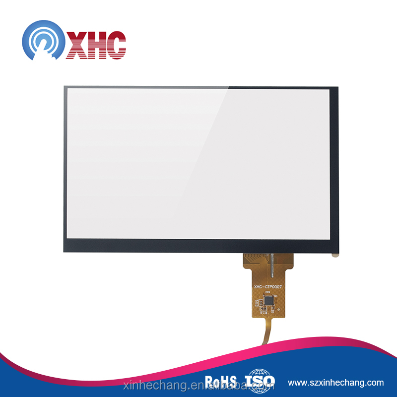 Focaltech IC solution 7 inch 800x480 capacitive touch screen