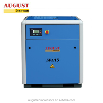 SFA15A 15KW/20HP 7bar AUGUST stationary air cooled screw compressor air