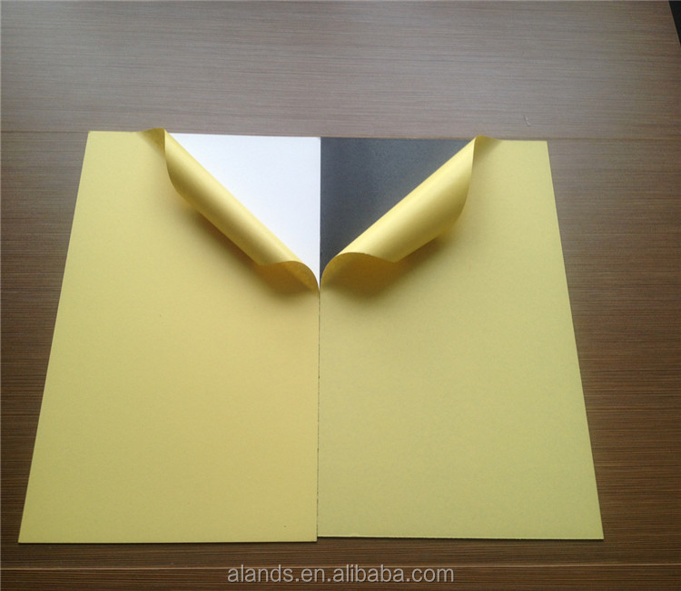 Double Sided Self Adhesive Album PVC Plastic Sheet