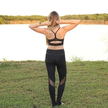 2016 New Designs Women's Tights Sport Workout Fitness Flex Leggings 3030