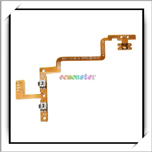 Wholesale! Handset Button Flex Cable For iPod Touch 4 -87003068