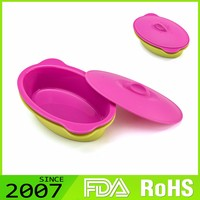 Rohs Certified Newest Environmentalnon-Toxic 100% Biodegradable Food Grade Silicone Storage Container