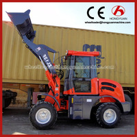Hongyuan Brand mini tractor with front loader