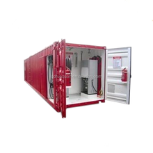 Iso standard fuel tank container type mobile fuel station