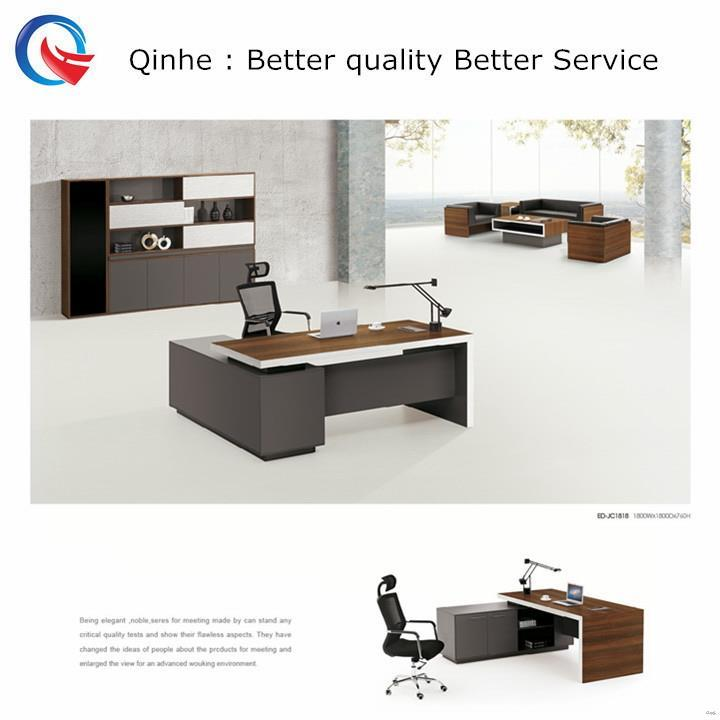 Practical high quality oem design modern round edge office desk