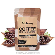 Memamy arabica coffee face and body scrub with cocoa CS001