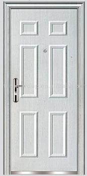 high quality cheap steel security door (FX-A0104)