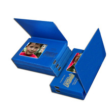 Promotional items customized size lcd video player digital book