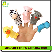 Wholesale Animal Finger Puppet