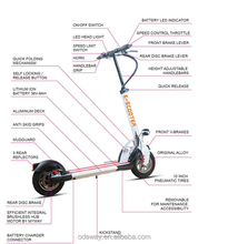 Newest electric tricycle standing fast mobility fold up scooter