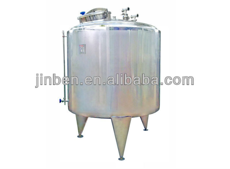Stainless steel cooler and heater mixer