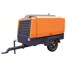 KG330L-8 factory price rotary screw portable diesel air compressor