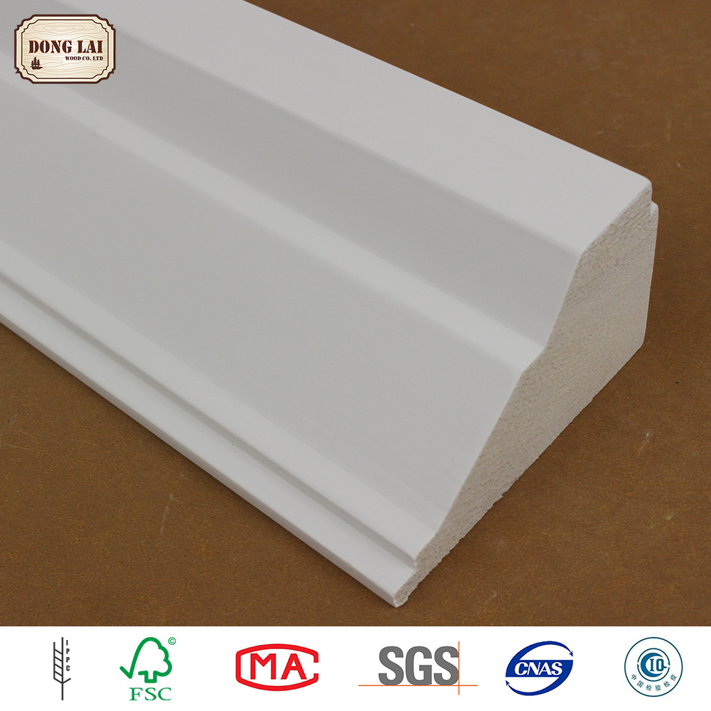 High Quality Radiata pine white gesso primed finger Jointed Panels