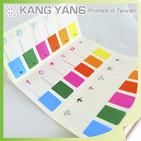 Crate To Adhere To Book Covers Of Clear PVC Paper Index Booklet Label Sticker