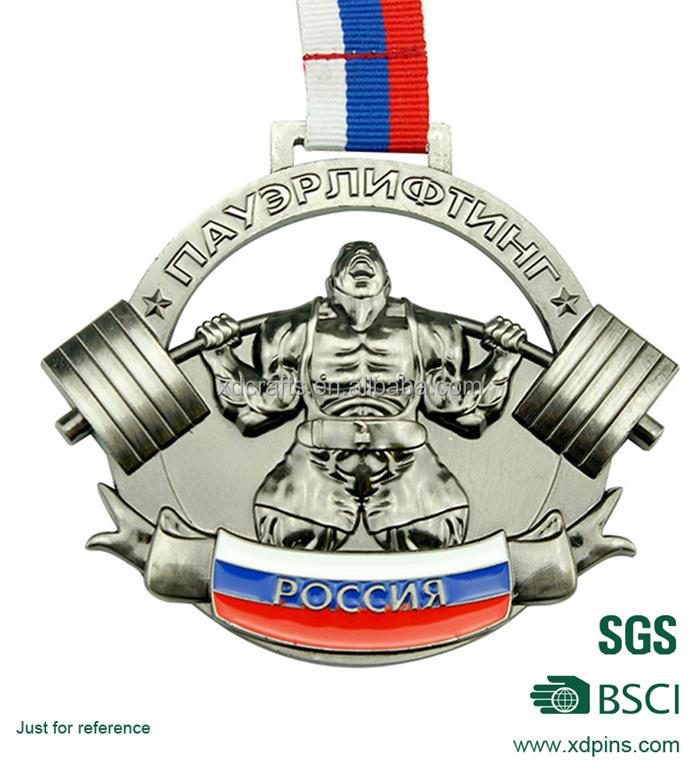 Top sell factory price custom medal / engraved blank sport medallion