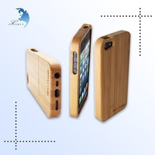 Wholesale laser engraved wooden cellphone case,rubber wood cellphone shell