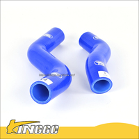 hot new products for 2016 2pcs Blue Silicone Coolant OEM Replacement Radiator Hose Kits for Toyota Hilux Vigo