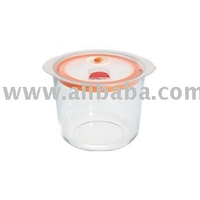 Food storage glass container 810ml
