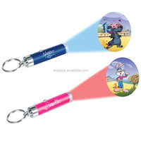 Projector Keychain Mini Lcd bullet shape key ring key fob
