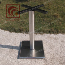 hot sale square stainless steel table leg for hotel