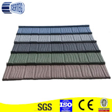 Colorful Wooden Shake Steel Roof Tile