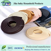 L shape New design baby protection products anticollision edge guard table desk edge protector with 3M adhesive tape