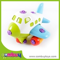 DIY Building Blocks Toy Plane Parts