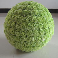 new products artificial fruit green rose ball for wedding hanging decoration