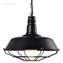 Factory OEM new design in black pendant lighting/Iron chain hanging lamp