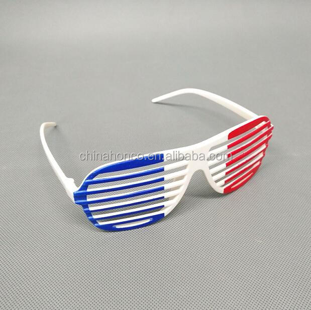 2018 style france football fan glasses french party glasses