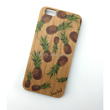 2015 wood carving case for iphone 6 Carved bamboo Wood Mobile phone wholesale wood mobile phone case for iphone 4