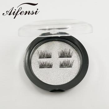 OEM service false eyelashes 100% cruelty free silk lashes box magnetic 3d silk eyelashes