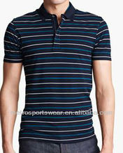 Men's Slim Stripe Fit Polo