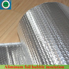 Silver reflective aluminum foil bubble heat insulation for roofing