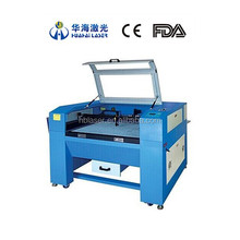 Huahai laser factory price 30W Co2 2d 3d crystal laser engraving machine with good price for all plastic rubber leather