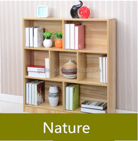 Modern design 3 tier wooden bookcase for home furniture