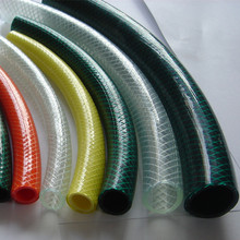 All Color Flexible Fiber Braided Reinforce Plastic PVC Garden Water Hose Pipe