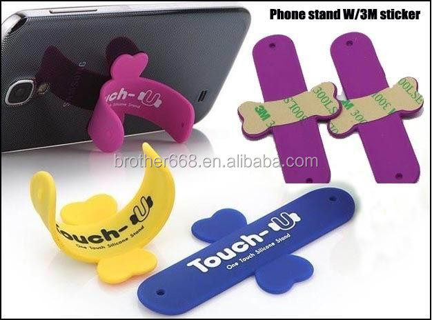 Hot sell silicone slap phone holder for phone accessories