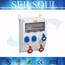 < seilsoul>brand IP67 waterproof ABS outdoor socket electrical distribution box size