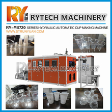 HOT SALE Hydraulic Thermoforming Machine for Making Disposable Plastic Cup and Plate