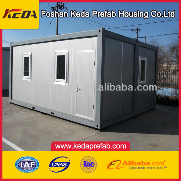 2013 pre-made container house chinese ecological /chinese ecological toilet house