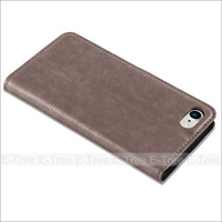 Strong Magnet Wallet Leather Case Flip Cover for iphone 8 , For iPhone 8 Card Slot Case Leather
