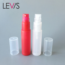 Wholesale colored mini red nice perfume atomizer 10ml 12ml 18ml bottle spray container perfume plastic bottle