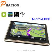 New android gps navigation 5 inch car android gps navigation box /gps radar detector M-51