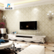 Luxury 3d embossed textile non-woven wallpaper