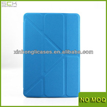 New Product stand leather case cover for ipad mini 2 ,leather tablet case