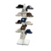 flooring metal sports cap display rack / shop hat display stand