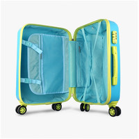 In stock abs factory travel trolley luggage bag suitcase luggage children tolley bag with low price